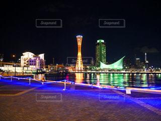 神戸の夜景の写真・画像素材[2414897]