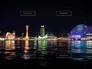神戸の夜景の写真・画像素材[2423430]