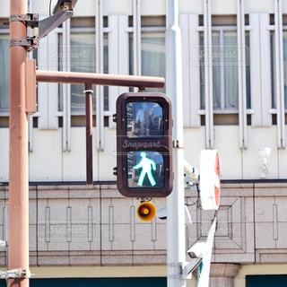 歩行者用信号機の写真・画像素材[2429464]