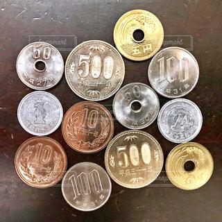 小銭の写真・画像素材[2433923]