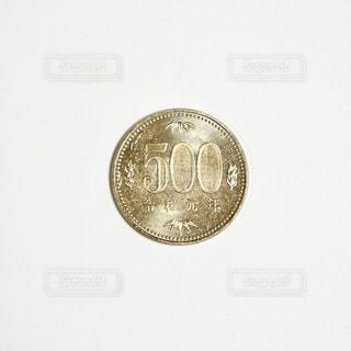 令和元年の500円玉の写真・画像素材[2475302]
