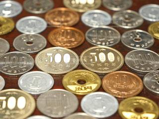 小銭の写真・画像素材[2621045]