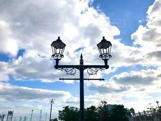 街灯の写真・画像素材[2643433]