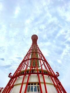 神戸ポートタワーの写真・画像素材[2686474]