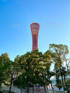 神戸ポートタワーの写真・画像素材[2697793]