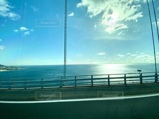 車窓風景の写真・画像素材[2741036]