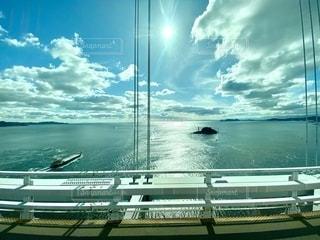 車窓風景の写真・画像素材[2741121]