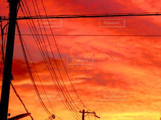 夕焼けの写真・画像素材[2752573]
