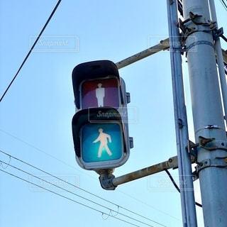 青信号の写真・画像素材[2776888]