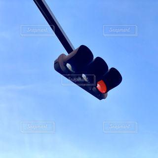 赤信号の写真・画像素材[2813621]