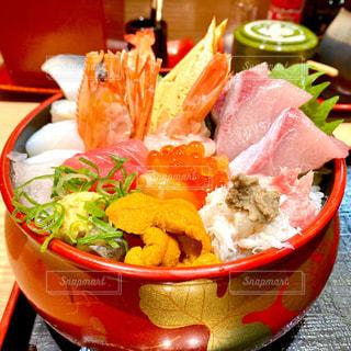 海鮮丼の写真・画像素材[2814094]