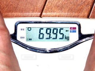 体重計の写真・画像素材[2819683]
