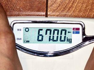 体重計の写真・画像素材[2822216]
