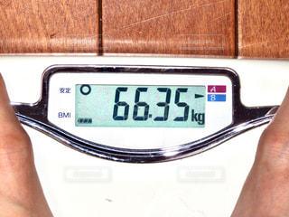 体重計の写真・画像素材[2831824]