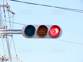 赤信号の写真・画像素材[2842060]