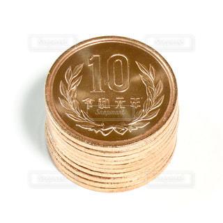 10円玉の写真・画像素材[2847469]