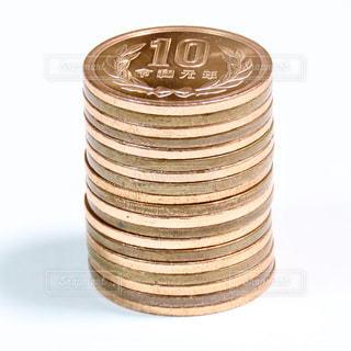 10円玉の写真・画像素材[2873235]