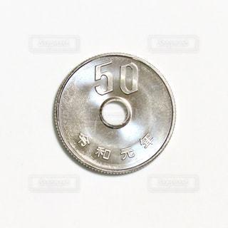 50円玉の写真・画像素材[2884486]