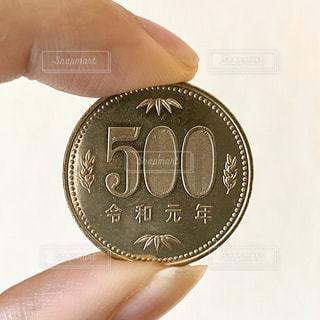 500円玉の写真・画像素材[2963500]