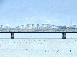 鉄橋の写真・画像素材[2971543]