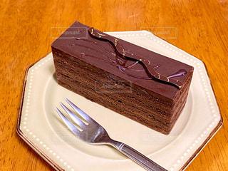 チョコレートケーキの写真・画像素材[2995075]