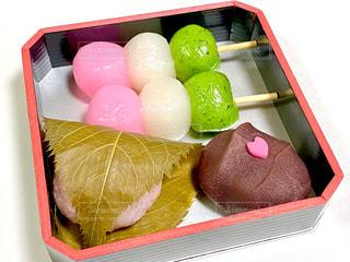 和菓子の写真・画像素材[3071797]