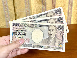 3万円の写真・画像素材[3235294]