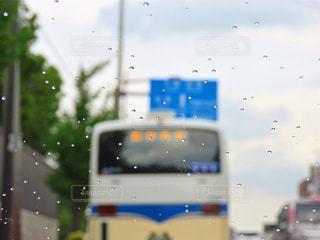 雨の日のドライブの写真・画像素材[3494814]