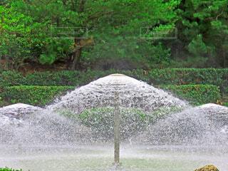 噴水の写真・画像素材[3678253]