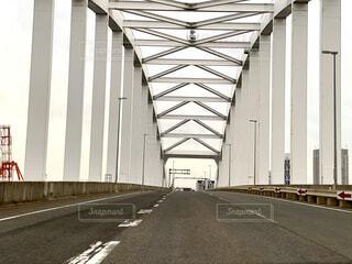鉄橋の写真・画像素材[3701414]