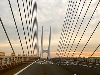 斜張橋の写真・画像素材[3701519]
