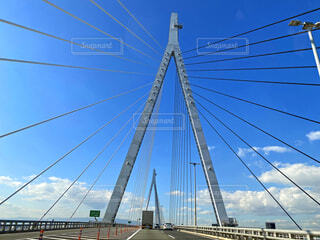 斜張橋の写真・画像素材[3820413]