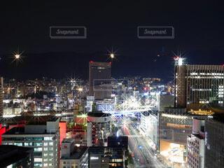 夜景の写真・画像素材[3971005]