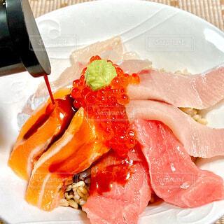 海鮮丼の写真・画像素材[4005440]