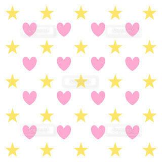 星とハートの写真・画像素材[4045104]