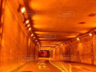 地下トンネルの写真・画像素材[4064590]