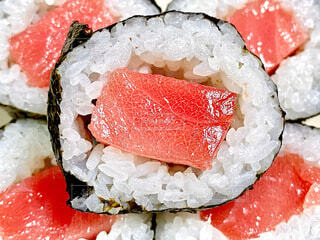 巻き寿司の写真・画像素材[4064645]
