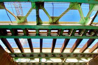 橋の下の写真・画像素材[4076558]
