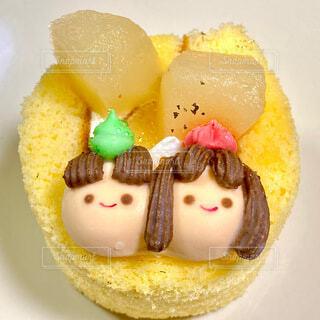 ひな祭りケーキの写真・画像素材[4207743]