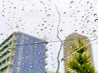 雨の日のドライブの写真・画像素材[4335074]