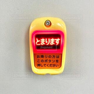 バスの降車ボタンの写真・画像素材[4342299]