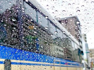 雨の日のドライブの写真・画像素材[4369590]