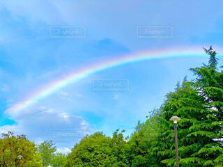虹の写真・画像素材[4379198]