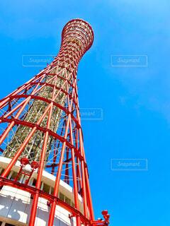 神戸ポートタワーの写真・画像素材[4460454]