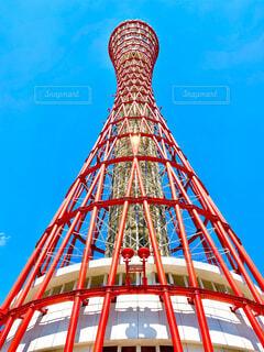 神戸ポートタワーの写真・画像素材[4460456]