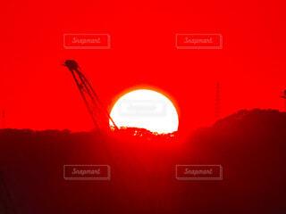夕日の写真・画像素材[4490023]