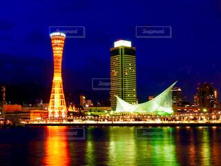 神戸の夜景の写真・画像素材[4568236]