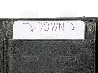 DOWNの写真・画像素材[4754469]