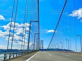 明石海峡大橋の写真・画像素材[4953198]