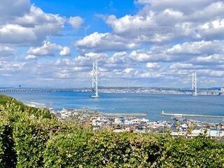 明石海峡大橋の写真・画像素材[4953444]